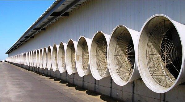 hệ thống thông gió làm mát cho nhà xưởng Các lưu ý khi lắp đặt hệ thống thông gió, làm mát cho nhà xưởng