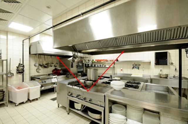 hệ thống hút khói nhà bếp Các lưu ý khi lắp đặt hệ thống thông hút gió, làm mát cho nhà hàng, quán ăn