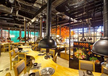 he-thong-hut-mui-nha-hang Các lưu ý khi lắp đặt hệ thống thông hút gió, làm mát cho nhà hàng, quán ăn