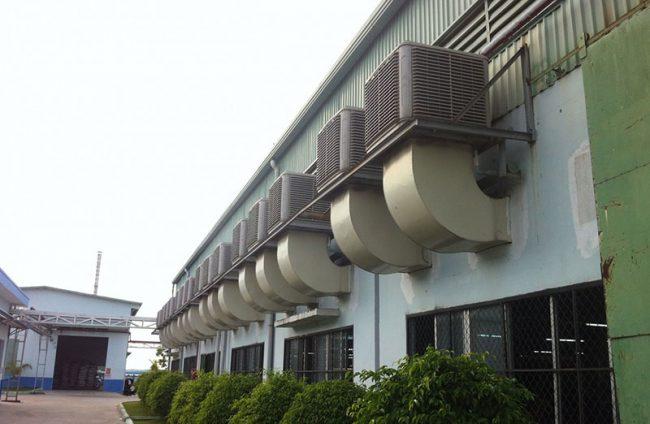 hệ thống làm mát nhà xưởng có mấy loại Hệ thống làm mát nhà xưởng bằng hơi nước có mấy loại?